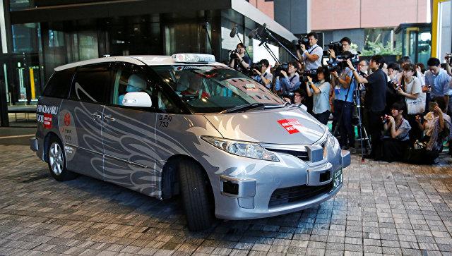 В Токио начались тестовые поездки беспилотных такси с пассажирами