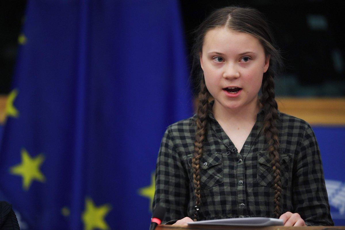 Грета Тунберг отказалась от премии
