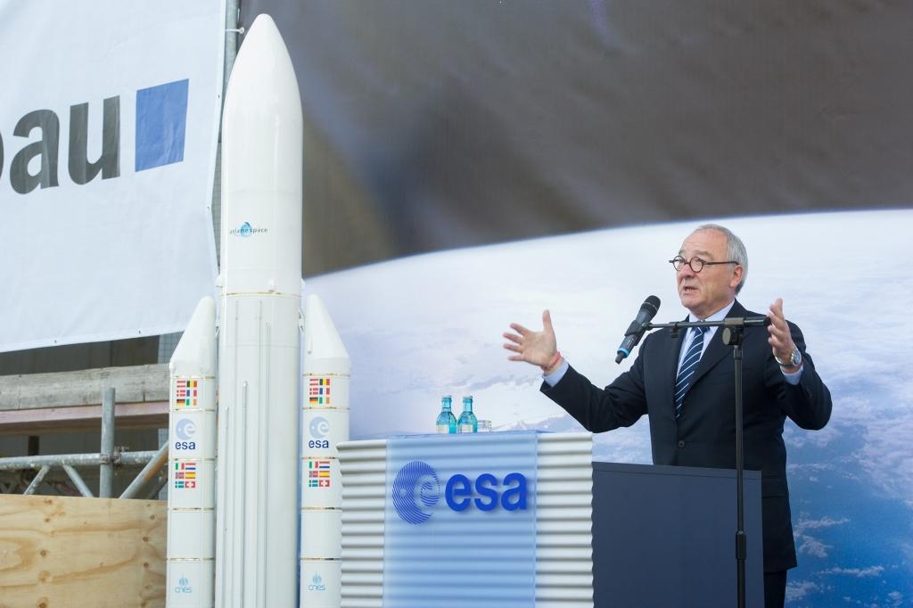 Европейское космическое агентство утвердило рекордный бюджет