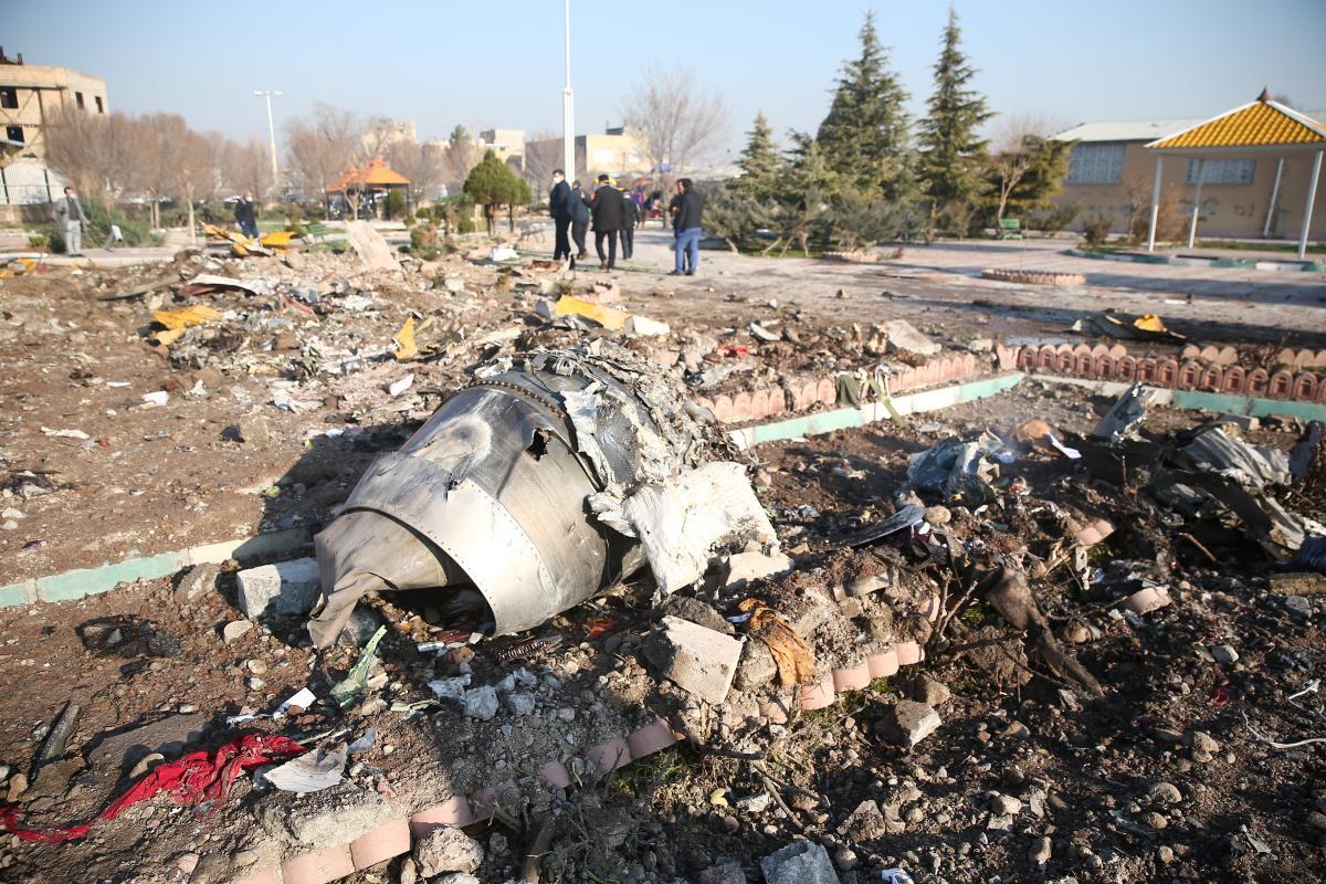 Катастрофа украинского Boeing 737 в Иране унесла жизни всех пассажиров