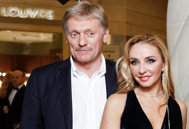 Дочь Пескова не могла принять Татьяну Навку в семью