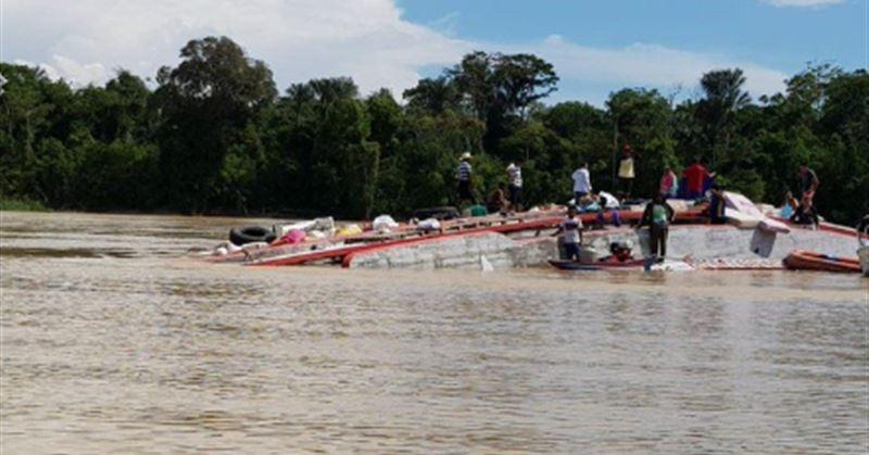 В Бразилии случилось крупное кораблекрушение