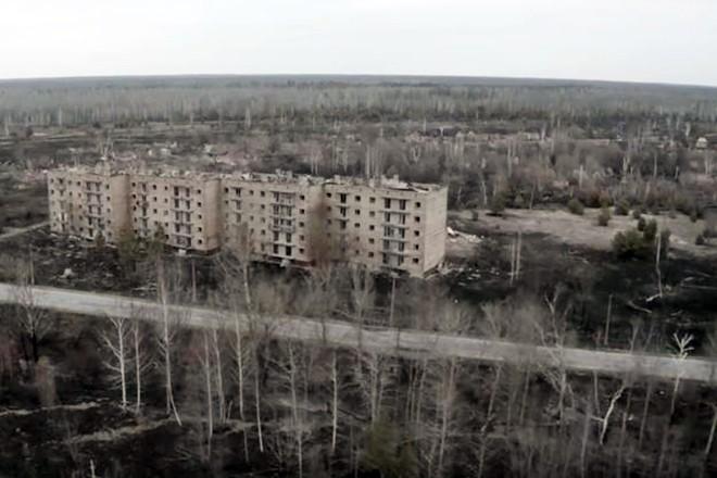 Горит лес в Чернобыле: опасность радиоактивного дыма