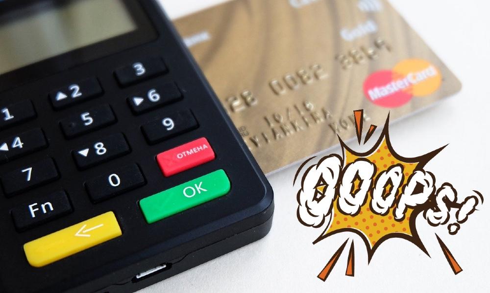 Главные ошибки при использовании кредитной карты