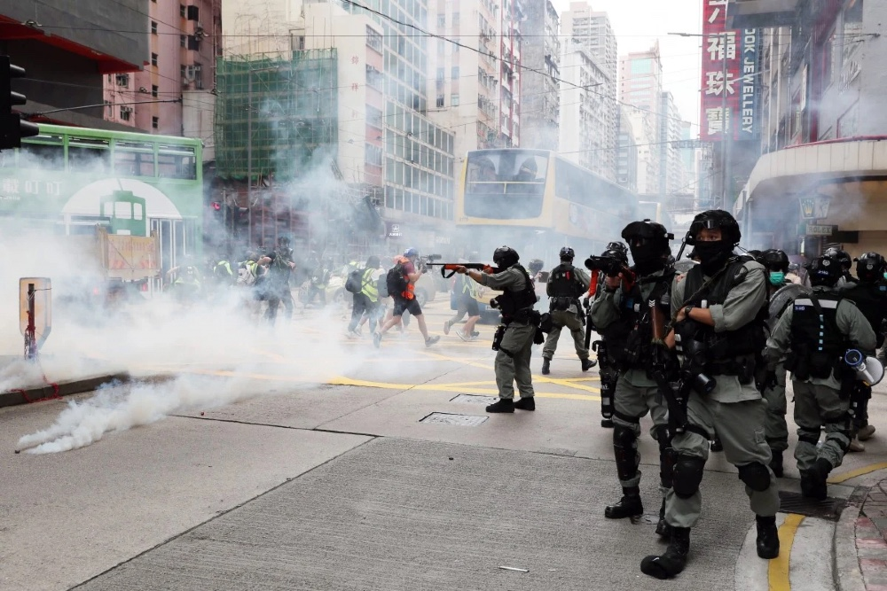 Парламент Китая поддерживает законопроект о безопасности Гонконга