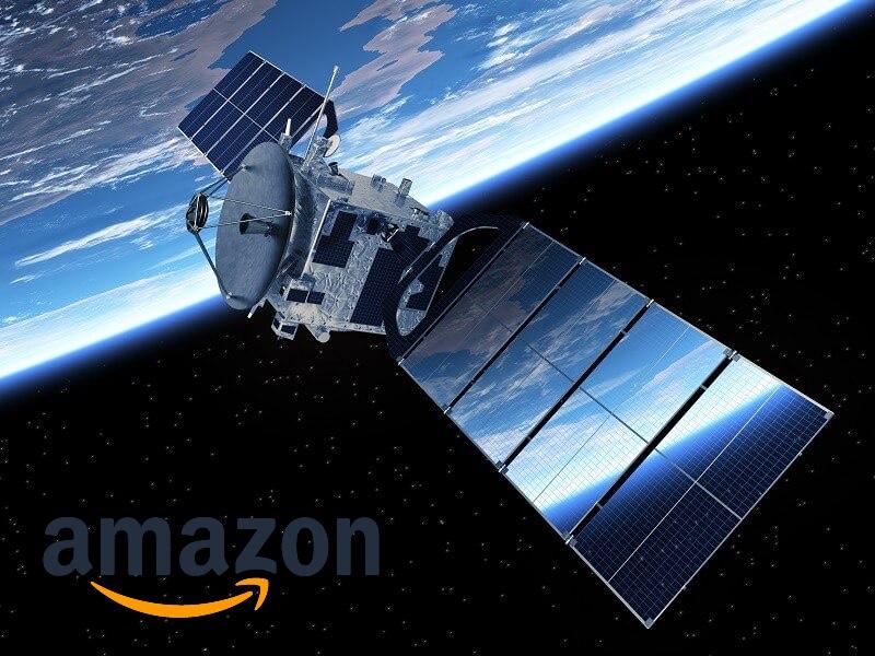 Amazon будет раздавать интернет из космоса. Безос запустит тысячи спутников